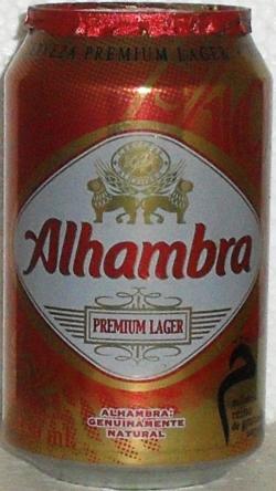 Alhambra Beer 330ml Spain