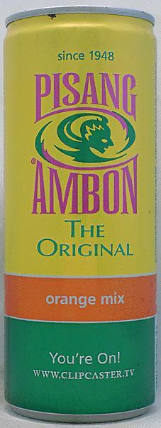 Pisang ambon alc orange cocktail 250ml netherlands for Cocktail pisang