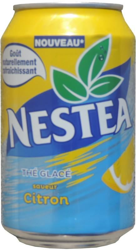 NESTEA-Ice tea -lemon-330mL-France Nestea Can